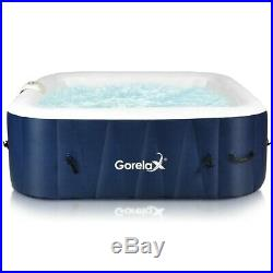6 Person Inflatable Hot Tub Portable Outdoor Massage Spa Leisure