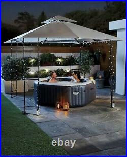 Aldi Intex Inflatable 4 Person Octagon Hot Tub Spa Pool IN HAND FAST DISPATCH