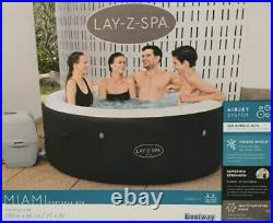 BRAND NEW and IN HAND Lay-Z-Spa Miami 2-4 Person Inflatable Hot Tub