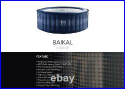 Baikal Family Inflatable Hot Tub Portable Spa Jacuzzi 4 Persons Home Holiday