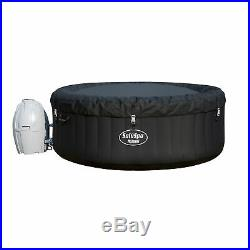 Bestway 54124 SaluSpa 4-Person Round Inflatable Hot Tub Spa with Pump (Open Box)