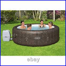 Bestway 85 x 28 In 7 Person Inflatable St Moritz AirJet Hot TubSpa (Open Box)