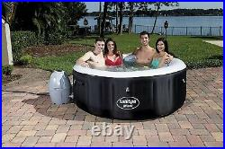Bestway SaluSpa Miami Inflatable 4-Person Hot Tub AirJet Spa Brand New FREE SHIP