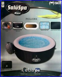 Bestway SaluSpa Miami Inflatable Hot Tub, 2-4 Person, AirJet Spa, Brand New