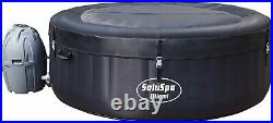 Bestway SaluSpa Miami Inflatable Hot Tub 4-Person AirJet Spa New Fast Ship