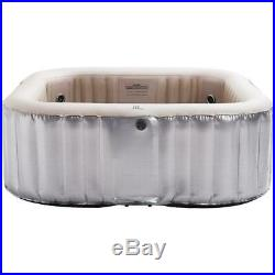 Bliss Family Inflatable Hot Tub Portable Spa Jacuzzi 6 Persons Home Holiday