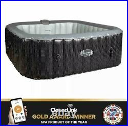 CLEVERSPA MIA 6 PERSON INFLATABLE HOT TUB (Like Lay-Z-Spa) FAST&FREE DELIVERY