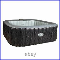 CleverSpa Corona 73in 6 Person Inflatable Hot Tub Spa (For Parts)