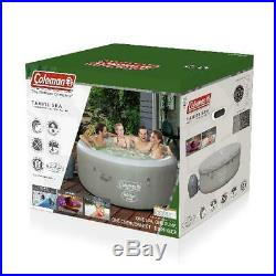 Coleman Hot Tub Spa Massage Pool Saluspa Inflatable 4 Person Outdoor Warm Water