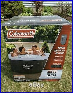 Coleman SaluSpa 4-6 Person Portable Inflatable Outdoor Hot Tub Spa FREE SHIPPING