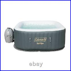 Coleman SaluSpa 4 Person Portable Inflatable Outdoor AirJet Spa Hot Tub (2 Pack)