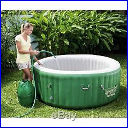 Coleman SaluSpa 6 Person Inflatable Outdoor Hot Tub with Chemical Maintenance Kit