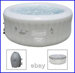 Coleman SaluSpa 71 x 26 AirJet Inflatable Hot Tub 2-4 Person Spa with COVER