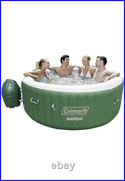 Coleman SaluSpa Inflatable Hot Tub Green 4-6 Person NEW! FAST SHIPPING