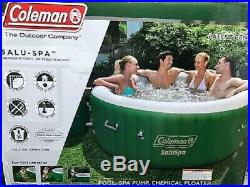 Coleman SaluSpa Lay-Z-Massage 77x28 Inch 6-Person Inflatable Hot Tub Spa Jacuzzi