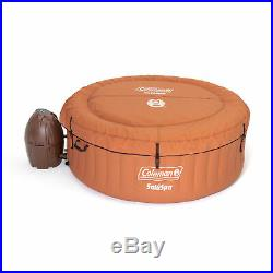 Coleman SaluSpa Miami Air Jet 4 Person Inflatable Hot Tub Spa with Pump (Open Box)