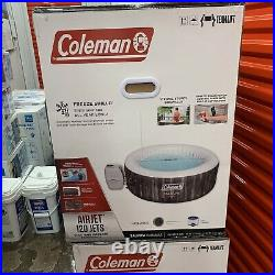 Coleman Saluspa 71 x 26 Airjet Inflatable Hot Tub Spa 4 Person Jacuzzi Pool NEW