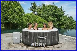 Coleman Saluspa Bahamas AirJet Inflatable Hot Tub 2-4 person WithCover, Filter Pump