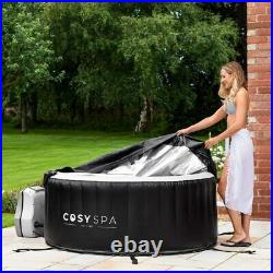 CosySpa Outdoor Garden Portable Heated Inflatable Hot Tub Jacuzzi 2-4 Person Spa