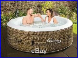 Fast Delivery CleverSpa Borneo 4 Person Hot Tub Like Lay-Z Spa Cancun Vegas