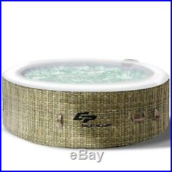 Inflatable Hot Tub 6 Person Outdoor Portable Pool Spa Hottub Massage Tub w Cover