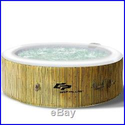 Inflatable Hot Tub 6 Person Portable Spa Hottub Pool Outdoor Massage Tub w Cover