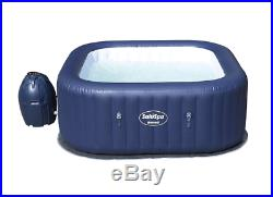 Inflatable Hot Tub For 6 Person Rectangular Jacuzzi Air Jet Massage Spa Luxury