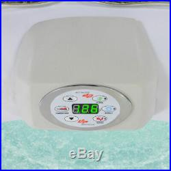 Inflatable Hot Tub Jacuzzi 4-Person Portable Spa Massage with Jets 54124