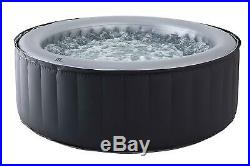 Inflatable Hot Tub jaccuzi Pool Spa 4 Persons Garden Indoors Outdoors New hot