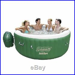 Inflatable Hot Tub spa massage outdoor jetted 2 to 4 person heated go anywhere