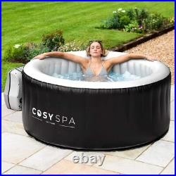 Inflatable Hot Water Tub Spa Outdoor Heated Bubble Jacuzzi 2-6 Person Capacity