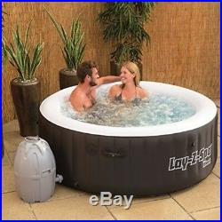 Inflatable Jaccuzi Hot Tub with Filter Heater 4 Person Outdoor Portable Spa NEW
