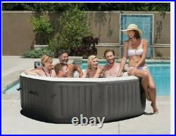 Intex 140 Bubble Jets 6-Person Inflatable Hot Tub Spa TRUSTED SELLER FREE SHIP