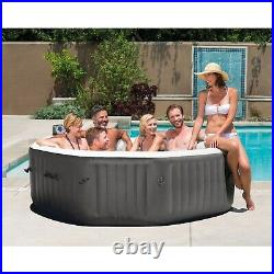 Intex 140 Bubble Jets 6-Person Octagonal Portable Inflatable Hot Tub FREE SHIP
