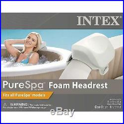 Intex 28403VM Pure Spa 4 Person Inflatable Hot Tub With Headrest And Cup Holder
