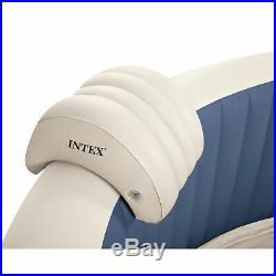 Intex 28405E Pure Spa 4-Person Inflatable Hot tub & Seat (2 Pack) & Cup Holder