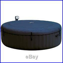 Intex 28409E Pure Spa 4-Person Inflatable Heated Hot Tub With Soft Foam Headrest