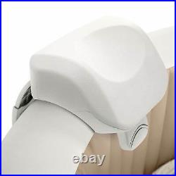 Intex 28409E Pure Spa 6 Person Inflatable Hot Tub With Headrest And Cup Holder