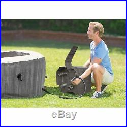 Intex Greywood Deluxe 4 Person Inflatable Hot Tub Bubble Jet Spa (For Parts)