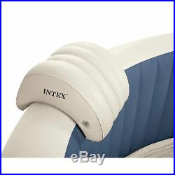 Intex PureSpa 4 Person Inflatable Portable Hot Tub & Headrest Pillow (2 Pack)