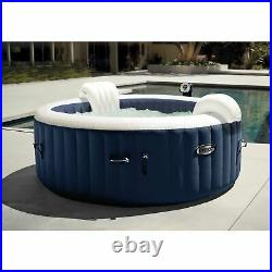 Intex PureSpa 4 Person Inflatable Portable Hot Tub with Cup Holder (2 Pack)