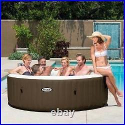 Intex PureSpa 6 Person Inflatable Hot Tub & Cup Holder & Headrest (2 Pack)