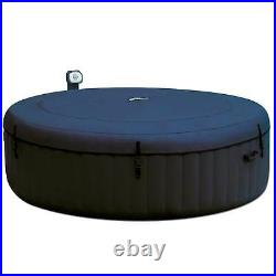 Intex PureSpa 75 Inch Bubble Jet Spa 6 Person Inflatable Hot Tub (For Parts)