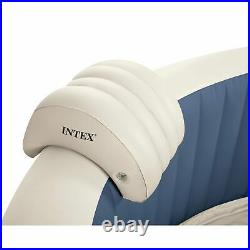 Intex PureSpa Inflatable 4 Person Hot Tub Spa with 6 Type S1 Filter Cartridges