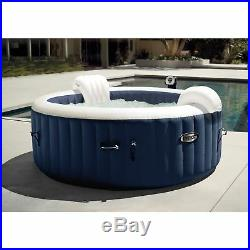 Intex Pure Spa Inflatable 4 Person Hot Tub and Slip Resistant Seat (2 Pack)
