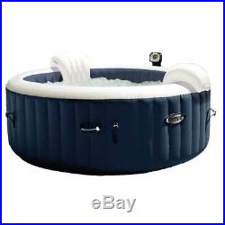 Intex Pure Spa Inflatable 4 Person Hot Tub with S1 Filter Cartridges (12 Pack)