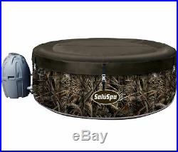 Jacuzzi Hot Tub Spa Inflatable Portable 4 Person Heated Backyard Patio Package