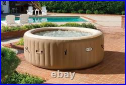 LOCAL PICKUP ONLY Intex 4-Person PureSpa Bubble Massage Inflatable Hot Tub Spa