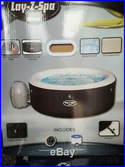 Lay-Z-Spa 2-4 Person Inflatable Miami Hot Tub