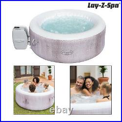 Lay-Z-Spa Cancun Airjet Grey 2-4 Person Luxury Hot Tub Inflatable Jacuzzi Spa